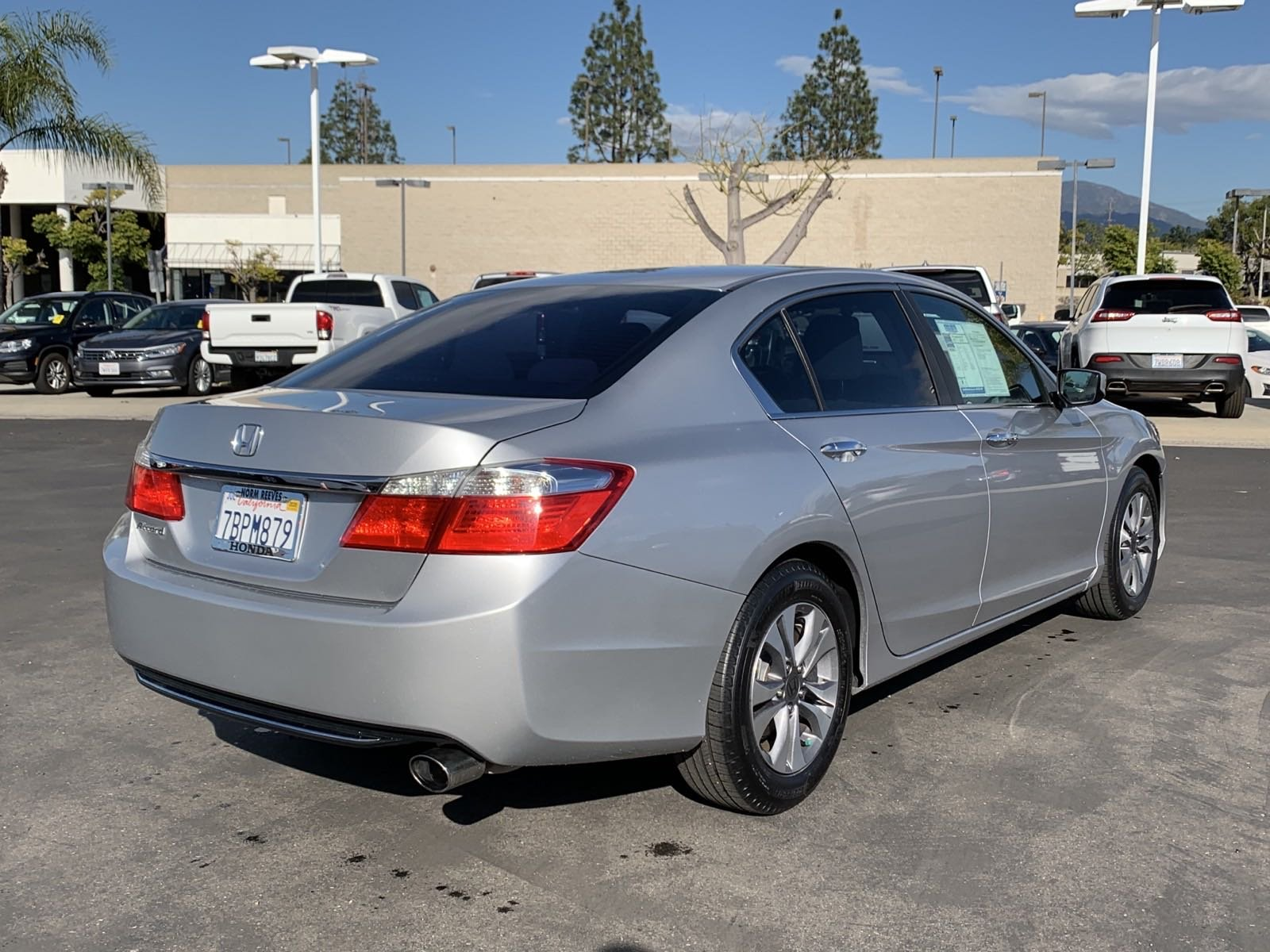 Pre-Owned 2013 Honda Accord Sdn LX