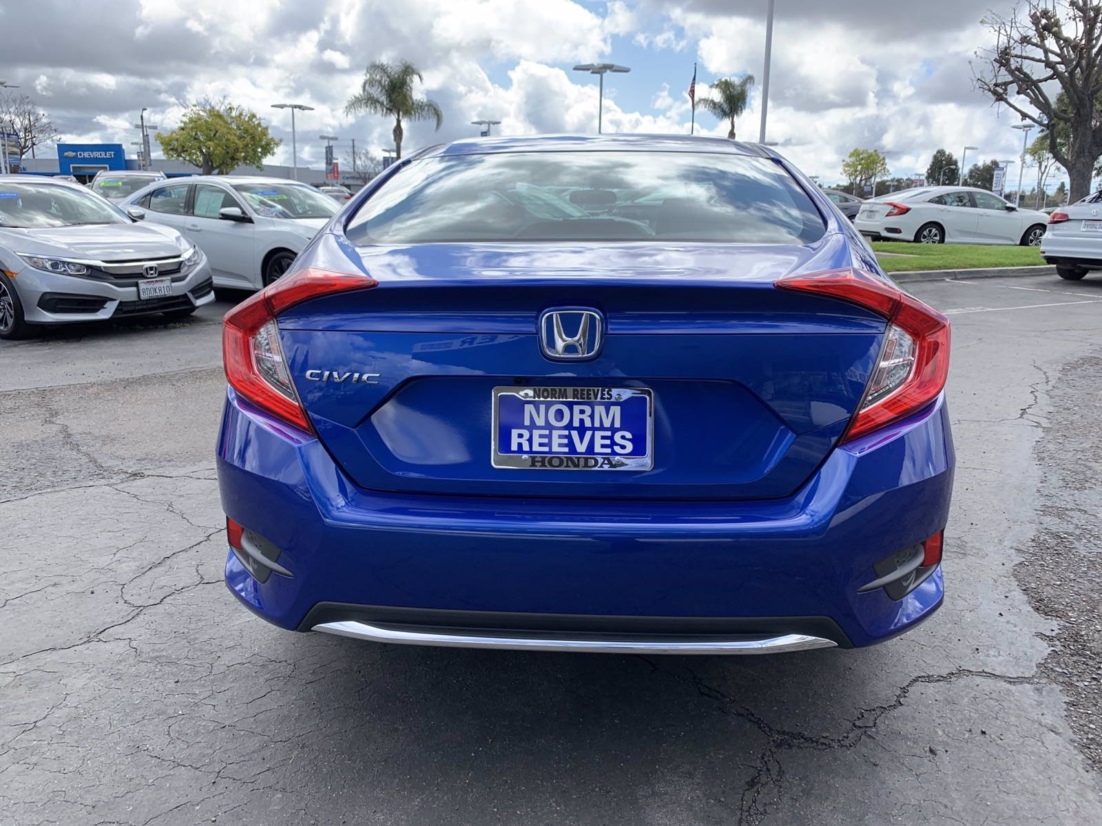 Pre-Owned 2020 Honda Civic Sedan