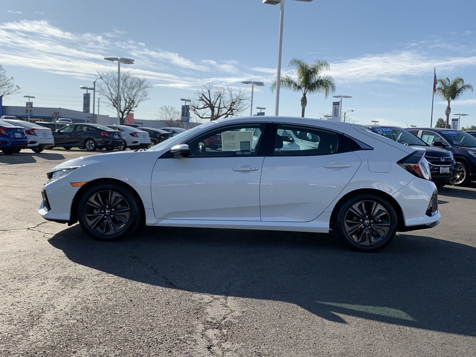 Certified Pre-Owned 2018 Honda Civic Hatchback EX